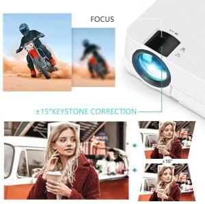 Videoproiector Vankyo  Leisure 470 Bass Edition, Wifi, 4000 Lumeni, LED, HDMI, AV, VGA, USB, SD,Conectare telefon, Telecomanda1