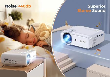 Videoproiector Vankyo  Leisure 430W, BassEdition, 4000 Lumeni, LED, HDMI, SD, AV, VGA, USB, Telecomanda, Cablu HDMI [2]