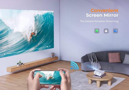 Videoproiector Vankyo  Leisure 430W, BassEdition, 4000 Lumeni, LED, HDMI, SD, AV, VGA, USB, Telecomanda, Cablu HDMI [6]