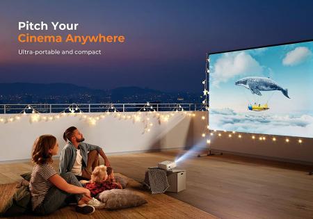 Videoproiector Vankyo  Leisure 430W, BassEdition, 4000 Lumeni, LED, HDMI, SD, AV, VGA, USB, Telecomanda, Cablu HDMI [3]