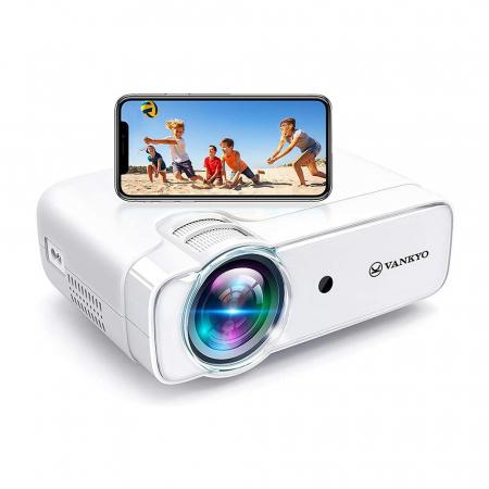 Videoproiector Vankyo  Leisure 430W, BassEdition, 4000 Lumeni, LED, HDMI, SD, AV, VGA, USB, Telecomanda, Cablu HDMI [0]