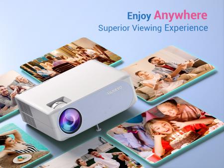 Videoproiector VANKYO Performance V630W, 6000 Lumeni,Wifi,  Native 1080p, LED, HDMI, VGA, AV, USB, Geanta de transport, Telecomanda, Cablu HDMI [3]