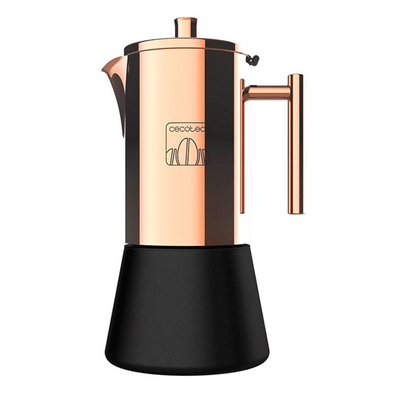 Cafetiera Cecotec Moking 600, 300 ml, 6 cani de cafea, inductie