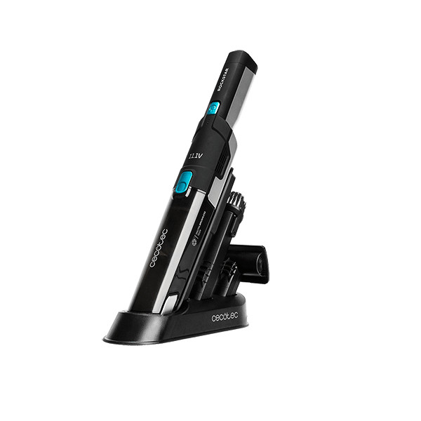 Aspirator de mana portabil Cecotec RockStar 5443, 2 moduri Eco Turbo, Ciclonic, Baterie detasabila Li-Ion, 2000 mAh, 120W