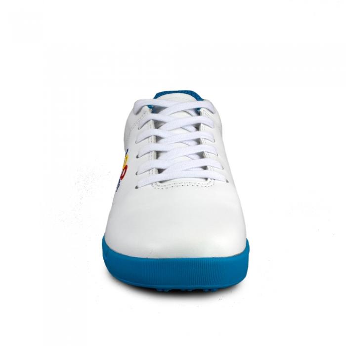 Sneaker box Centenar GARANTIE 365 ZILE - Alb/Albastru 4