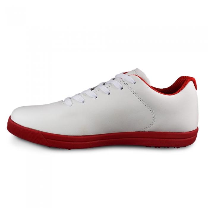 Sneaker box Centenar GARANTIE 365 ZILE Alb/rosu 3