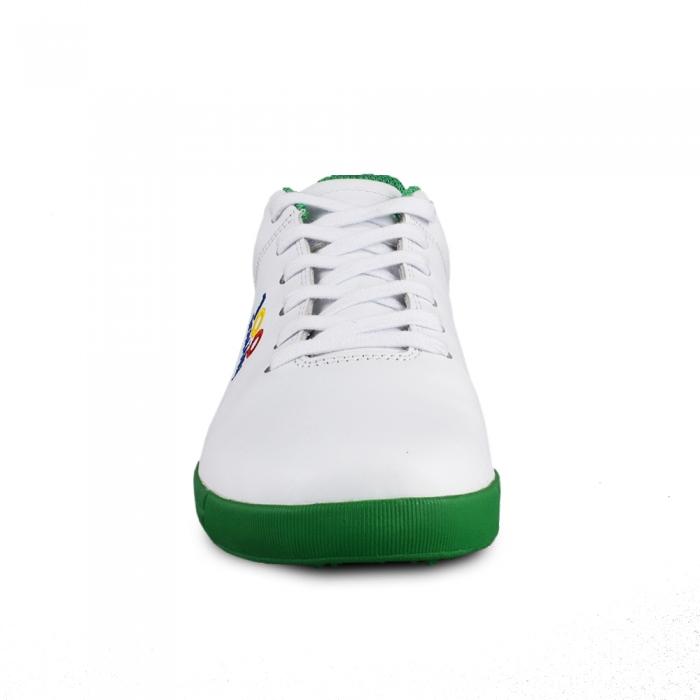 Sneaker box Centenar - Alb/Verde 1