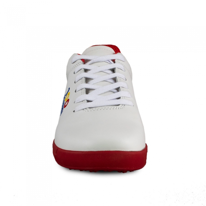 Sneaker box Centenar GARANTIE 365 ZILE Alb/rosu 2