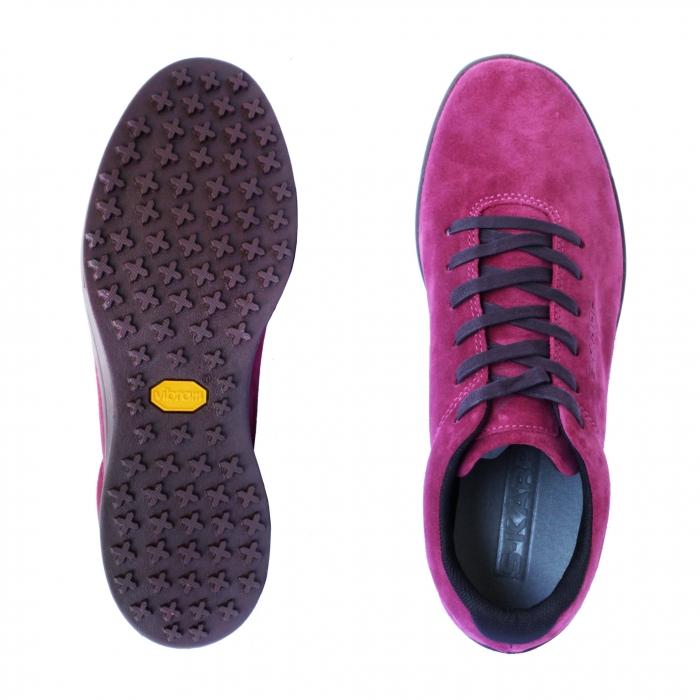 Sneaker T bordeaux 3