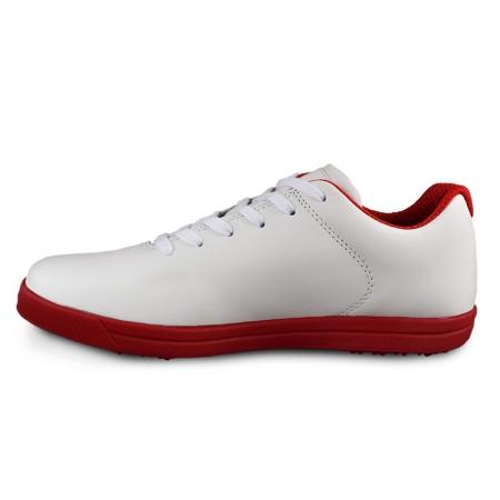 Sneaker box Centenar GARANTIE 365 ZILE Alb/rosu3