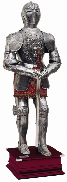 Armură europeană de paradă, secol XVI 0