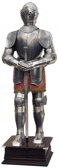 Armură europeană de secol XVI 0