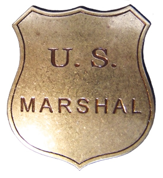 Insignă US Marshal 0