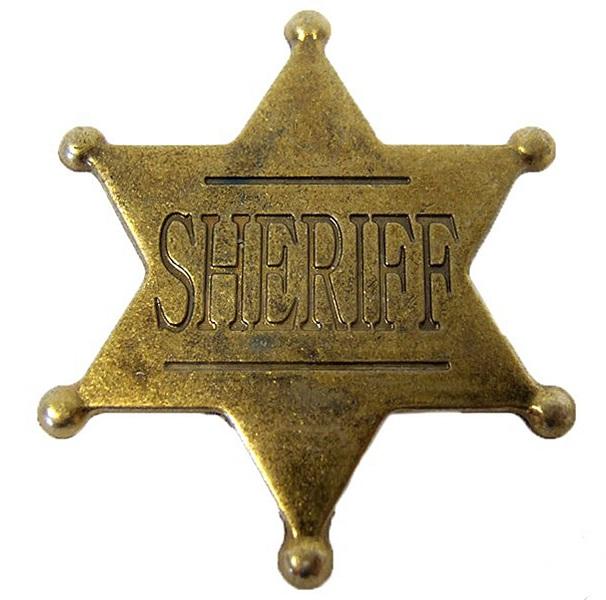 Insignă sheriff 0
