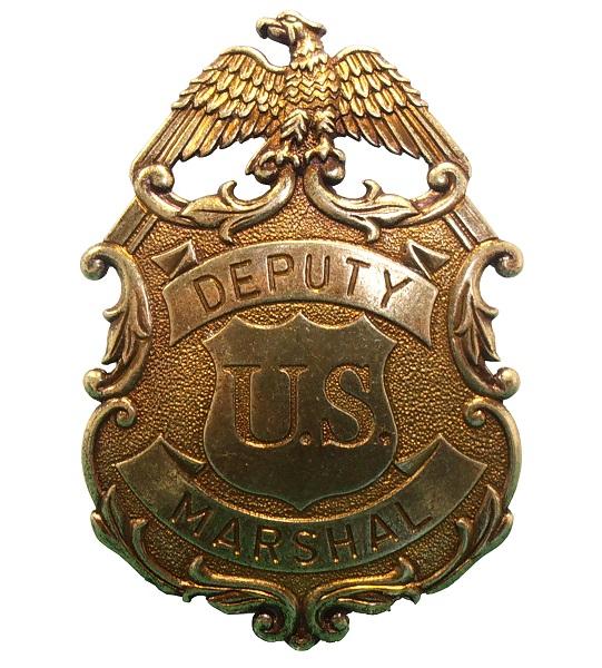 Insignă US Marshal Deputy 0