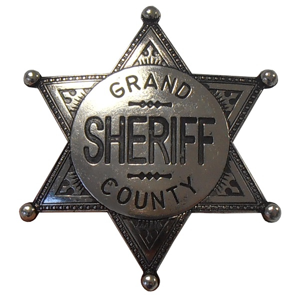 Insignă sheriff Grand County 0