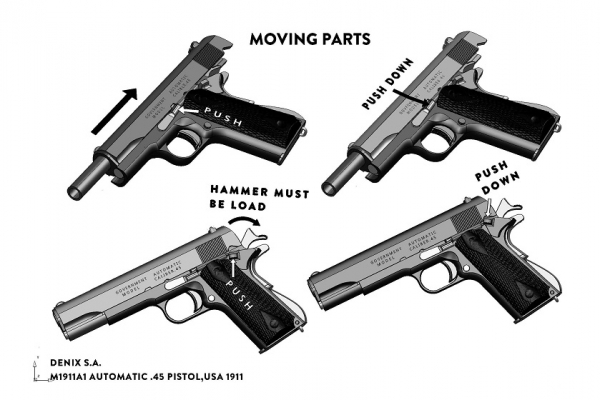 Pistol Colt M1911A1 [1]