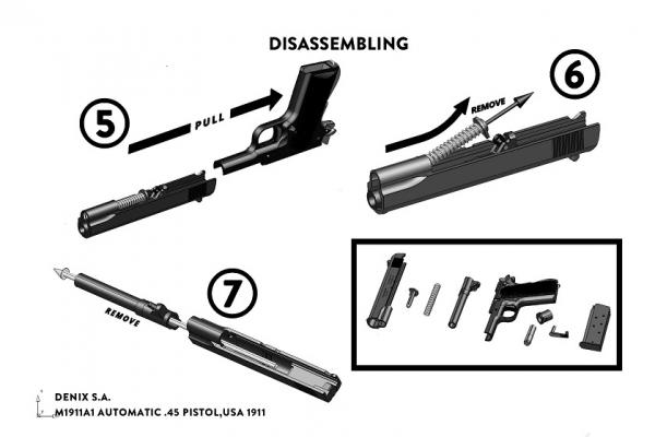 Pistol Colt M1911A1 [3]