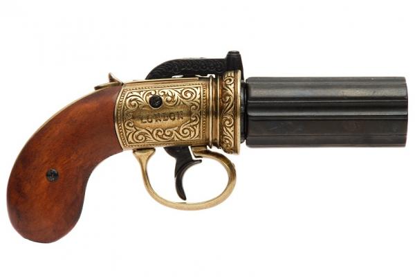 Pistol cu 6 țevi 0