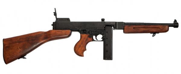 Pistol-mitralieră Thompson M1 Tommy Gun 0