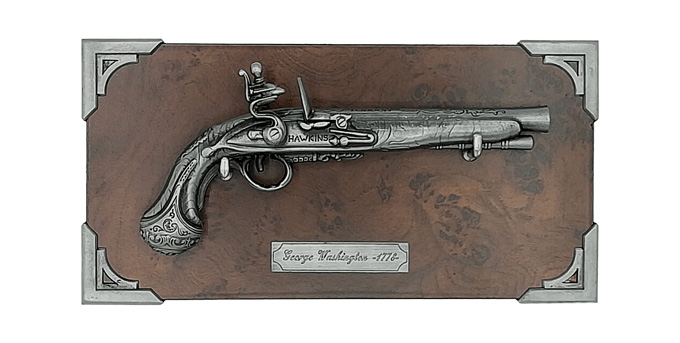 Pistol George Washington miniatură 0