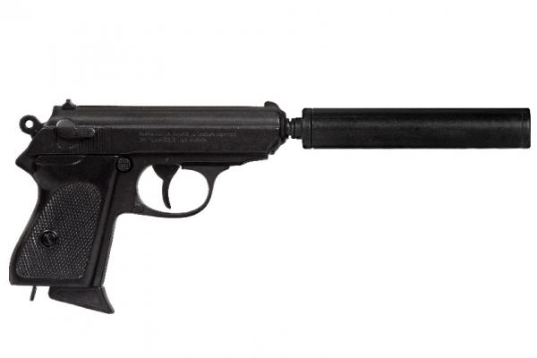 Pistol Walther PPK cu amortizor [0]