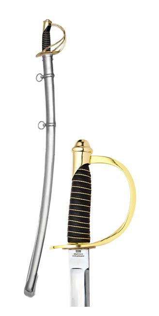 Sabie de cavalerie model Cuza (Premium) 0
