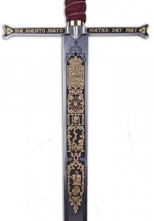 Spada Regii catolici damaschinată2