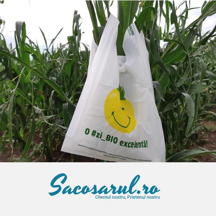 Punga biodegradabila maieu imprimata o zi_bio excelenta - 5000 0