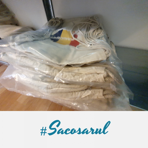 Rucsac panza cu snur #ZiRomania - Sacosarul 7