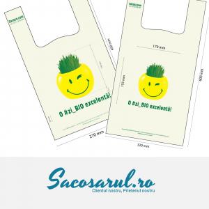 "MAXI Pack Sacose - Pungi BIOdegradabile  ""O #zi_BIO excelenta"" set 800 bucati - Pungi BIO Maieu 27x45 cm 500 buc + Pungi BIO Maieu 32x60 cm 300 buc0"