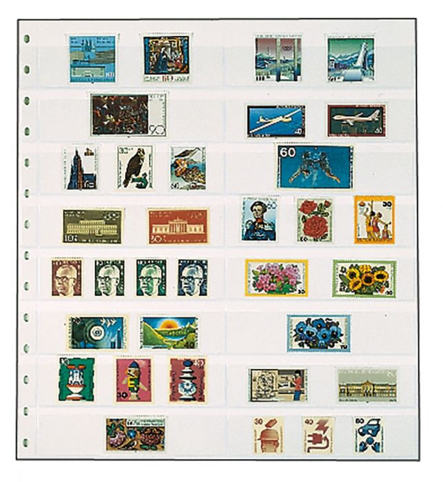 Folii pentru timbre - 3 culori 0