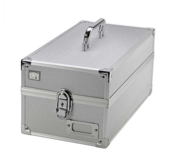 Valiza aluminiu cu maner 170x135x335 mm 1