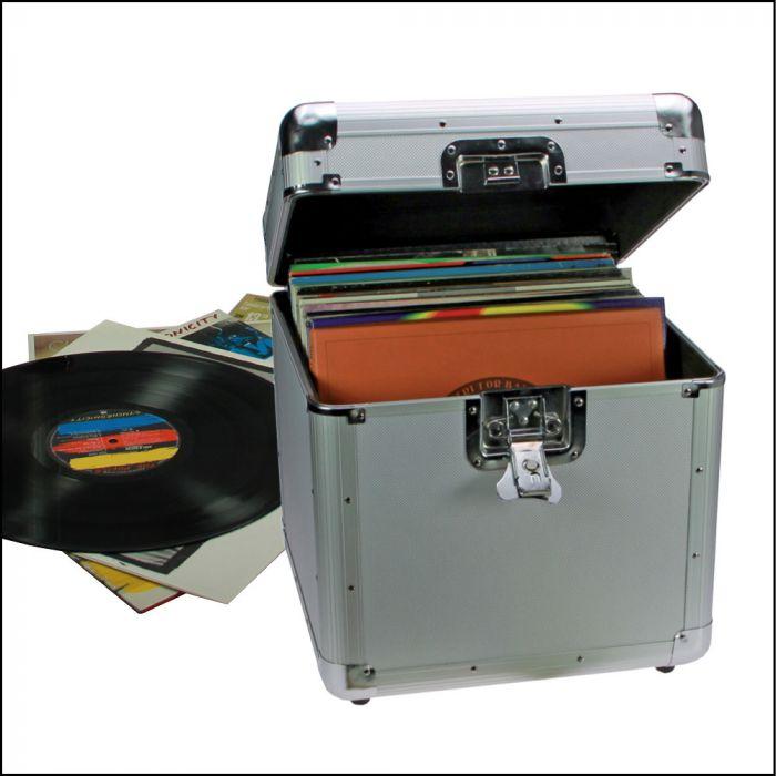 Cutie aluminiu pentru 100 discuri vinil-221 [0]