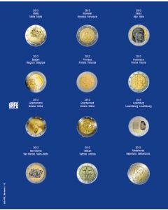 Foaie preimprimata pentru monede - 24 buc 0