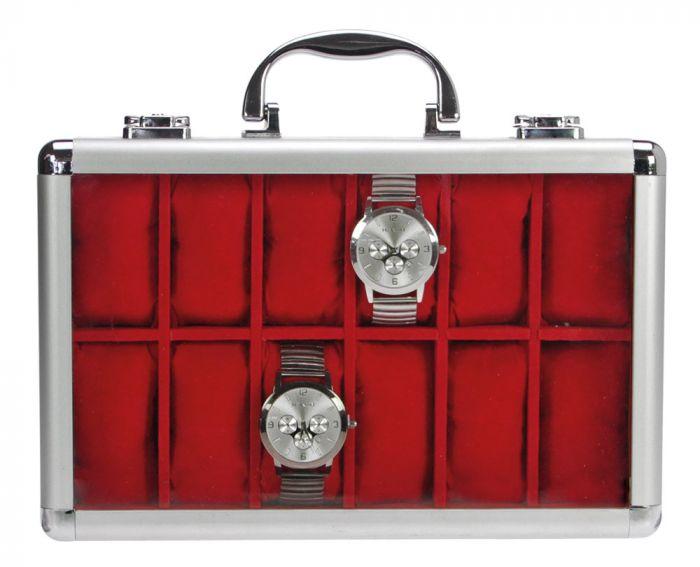 Cutie din aluminiu pentru 12 ceasuri 0