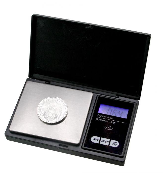 Cantar digital pentru monede 1/100 g 0