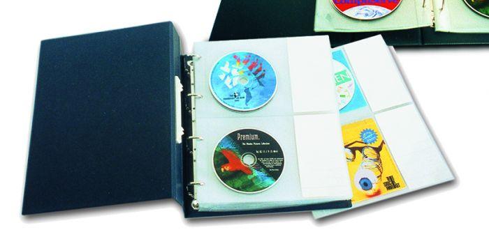 Album cu 10 plicuri pentru 20/40 CD/DVD - Compact A4 [0]