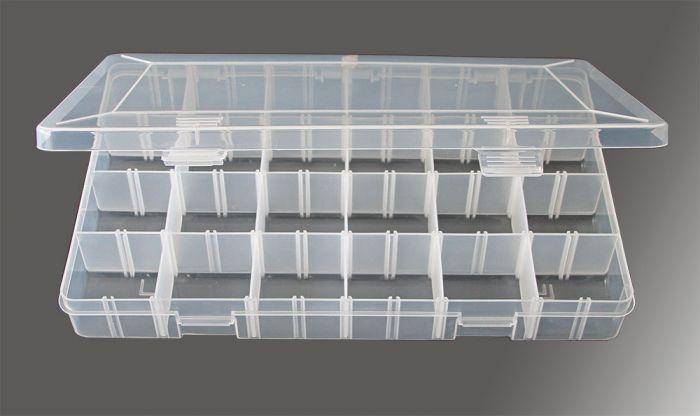 Cutii pentru colectii 24 compartimente patrate [0]