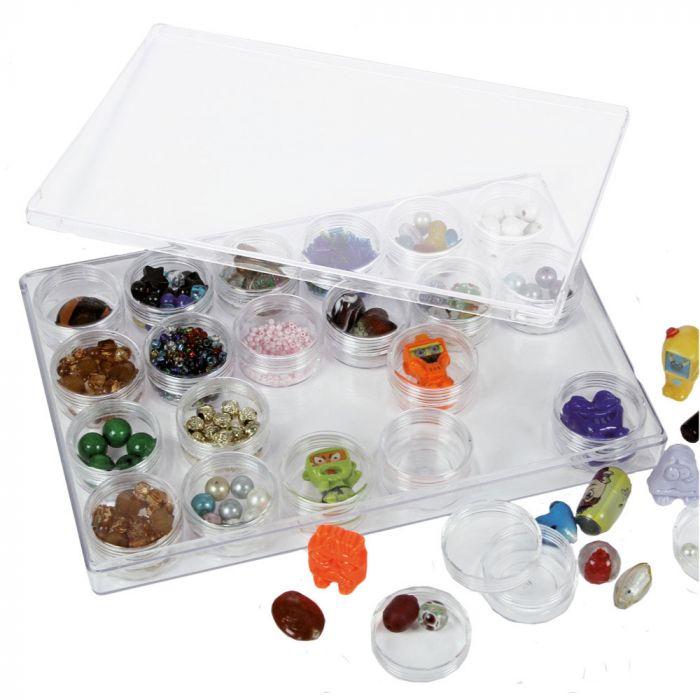 Cutie pentru depozitarea pietrelor, perlelor 0