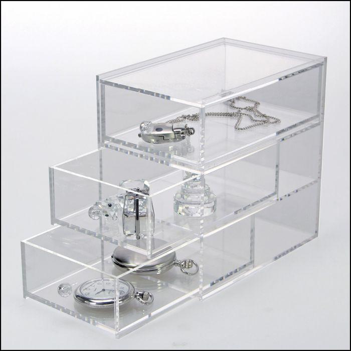 Cutie cu sertare din acril-3 sertare [0]