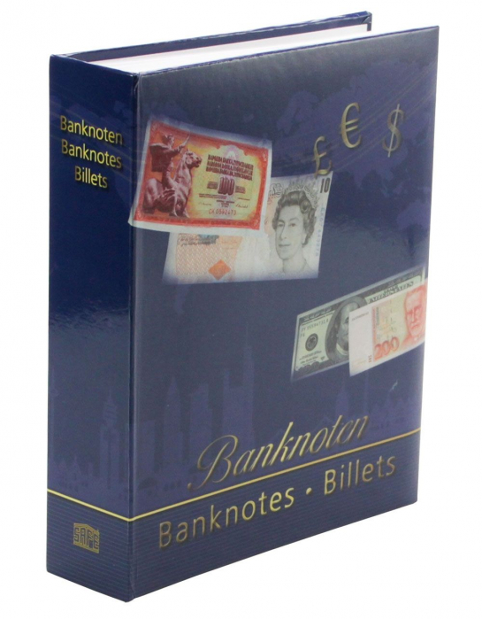 Album pentru bancnote, coperta laminata, pentru bancnote - Universal-safe6008 [0]
