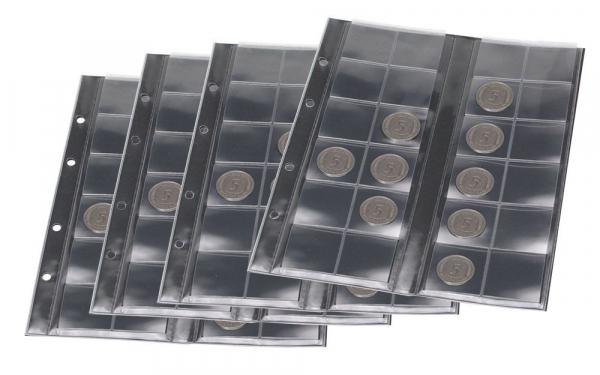 """Folii transparente pentru monede """"ART-Line"""" [0]"""