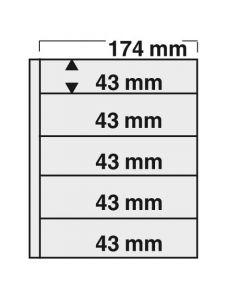 "Folii negre cu 5 buzunare ""Compact"" [0]"