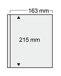 "Folie transparenta cu un buzunar 163 x 215 mm ""Compact"" 0"