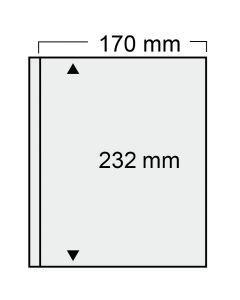 Folie transparenta cu un buzunar 170 x 232 mm [0]