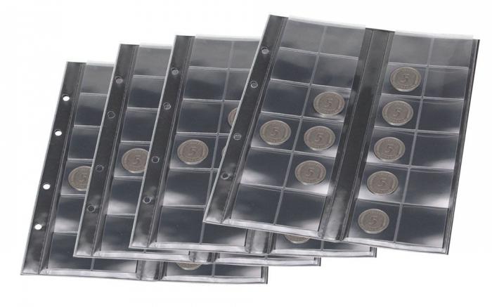 Album din piele captusit, pentru pana la  800 monede - Premium MAXI-7365 [1]