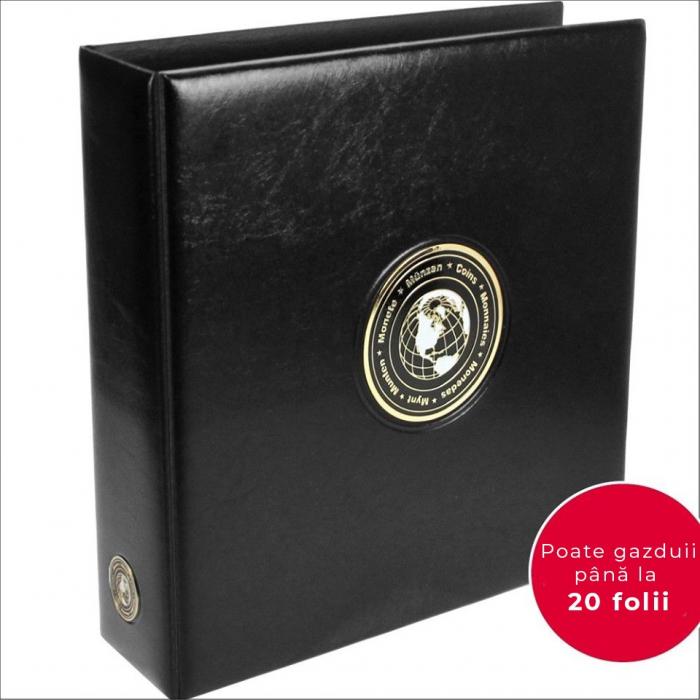 Album din piele captusit, pentru pana la  800 monede - Premium MAXI-7365 [0]
