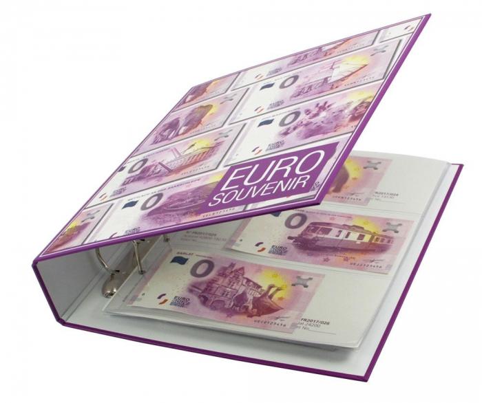 Album pentru bancnote de 0 Euro Germania - 2016/17 [2]