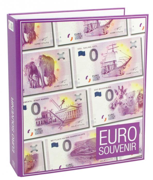 Album pentru bancnote de 0 Euro Germania - 2016/17 [0]